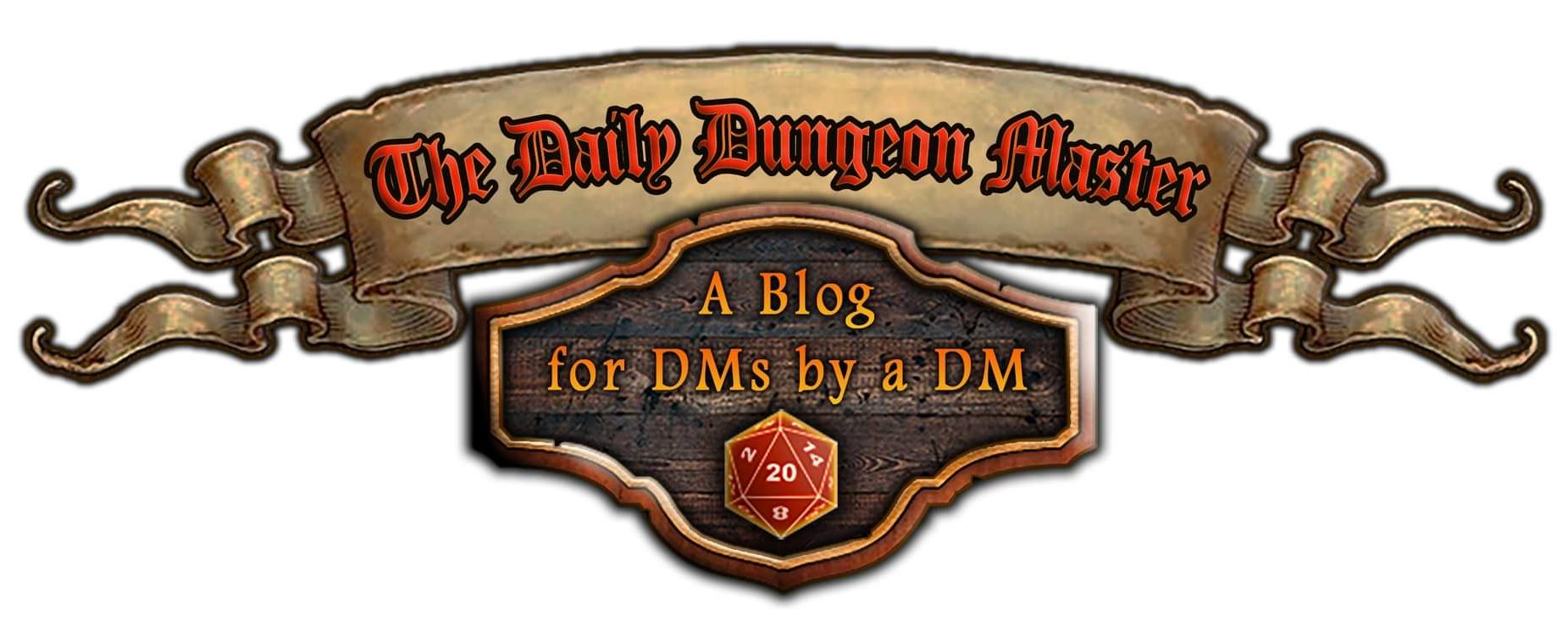 The Daily Dungeon Master Blog
